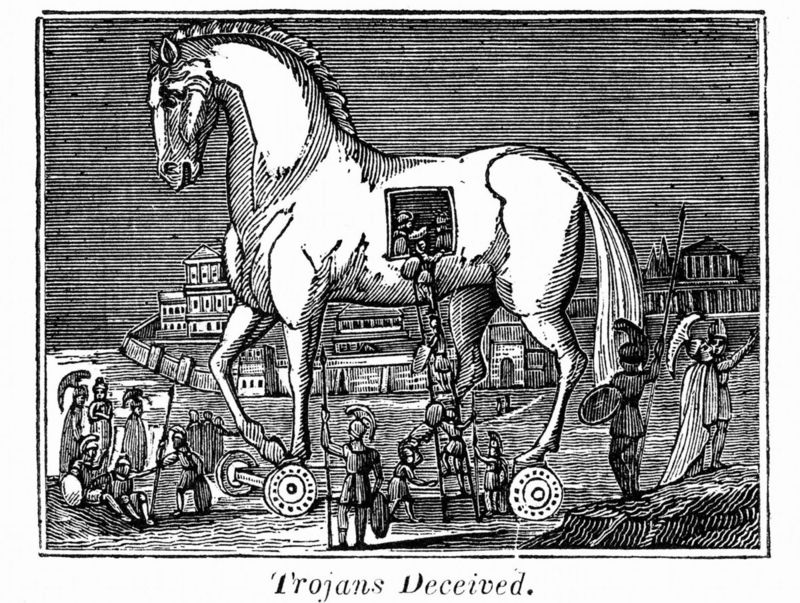 El caballo de troya for What does punch out mean in construction