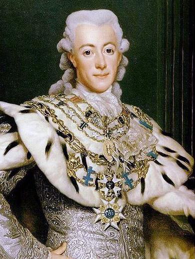 Cuadro de Gustavo III de Suecia