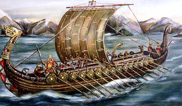 El gran viaje vikingo de noruega a am rica - Todo sobre barcos ...