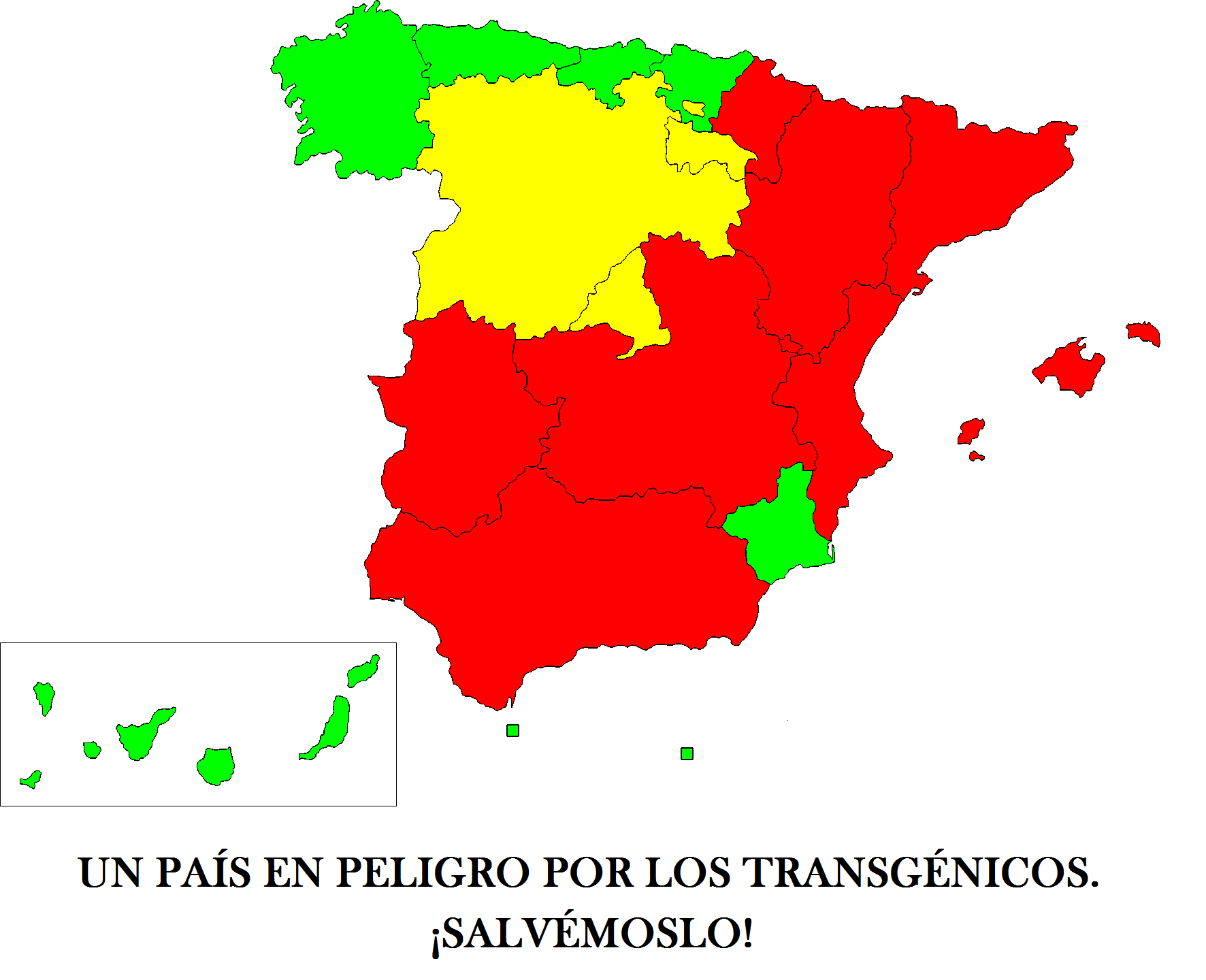 Los transgénicos en España