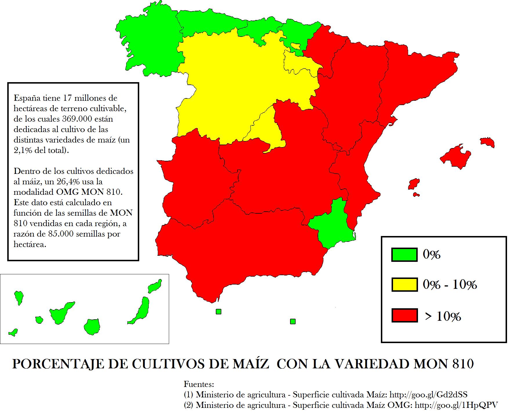 El cultivo de transgénicos en España (2)