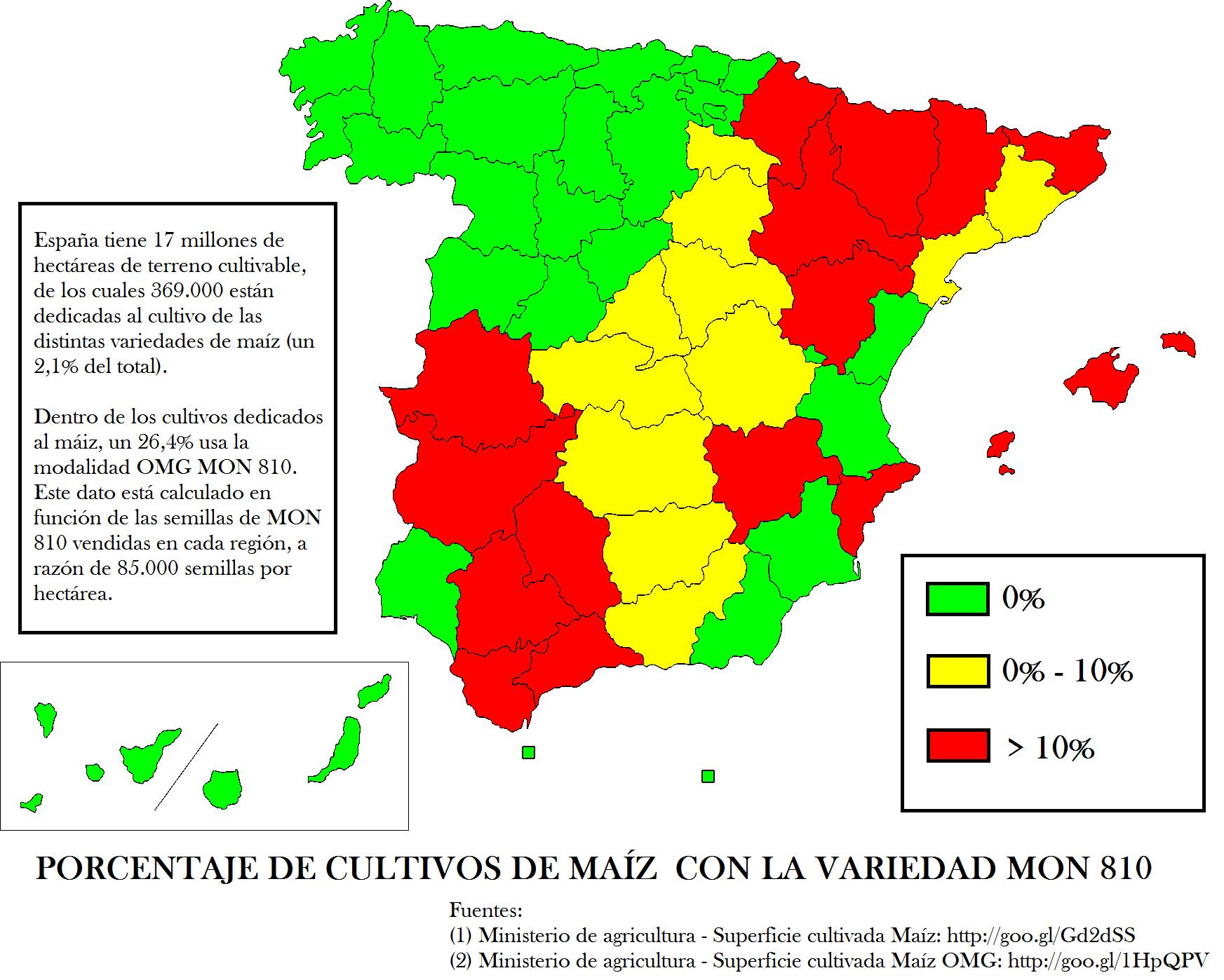 El cultivo de transgénicos en España (3)