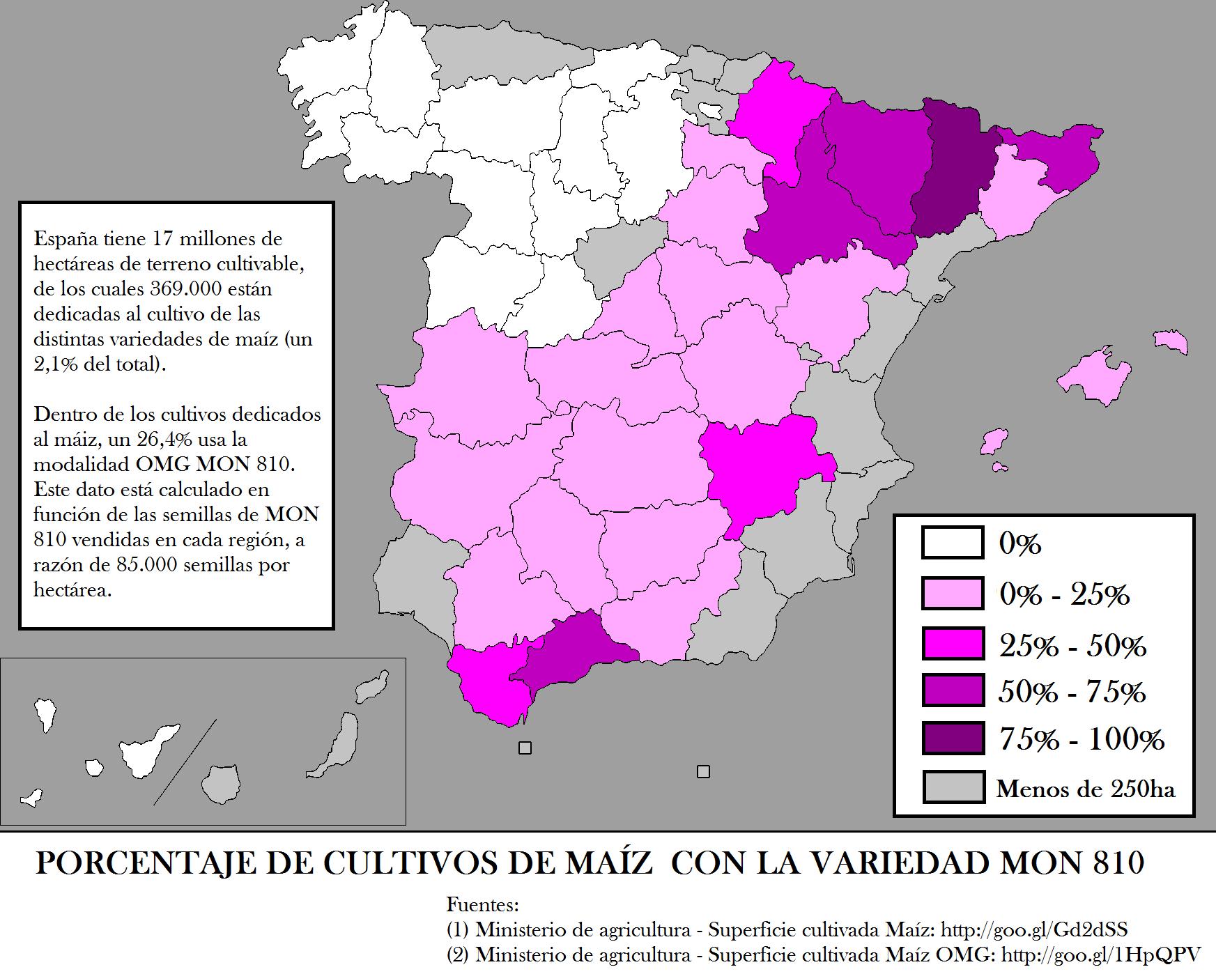El cultivo de transgénicos en España (5)