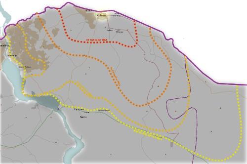 Sitio de Kobane