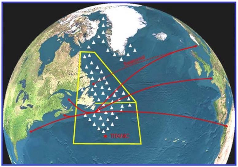 icebergs-atlántico-norte