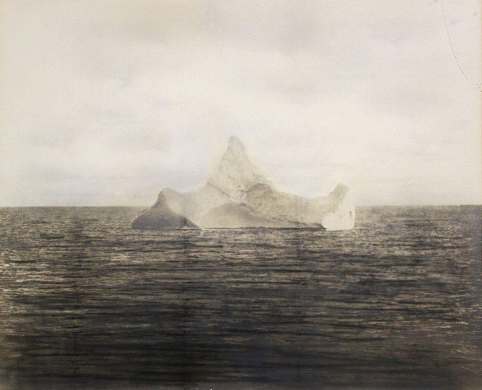 titanic-iceberg-fotografía